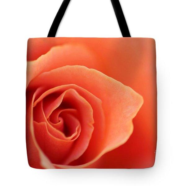 Soft Rose Petals Tote Bag