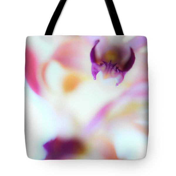 Soft Seduction. Orchids Tote Bag by Jenny Rainbow