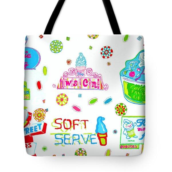 Soft Serve Tote Bag by Beth Saffer