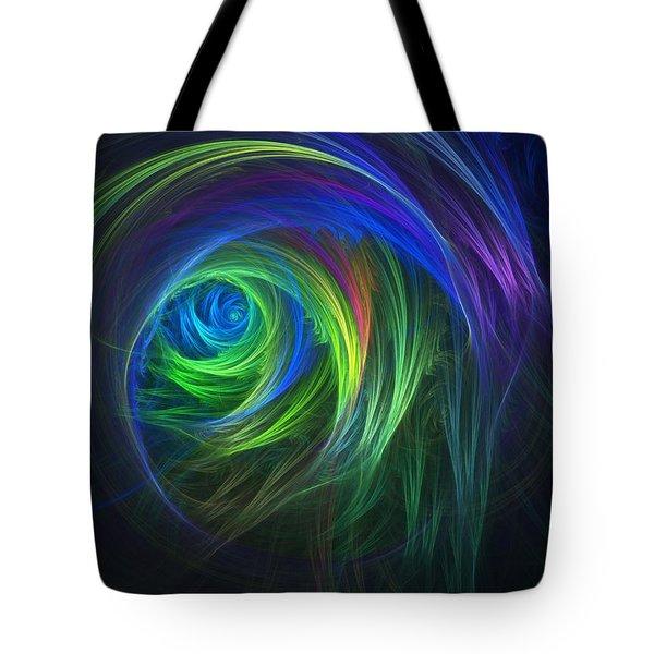 Soft Swirls Tote Bag by Lyle Hatch