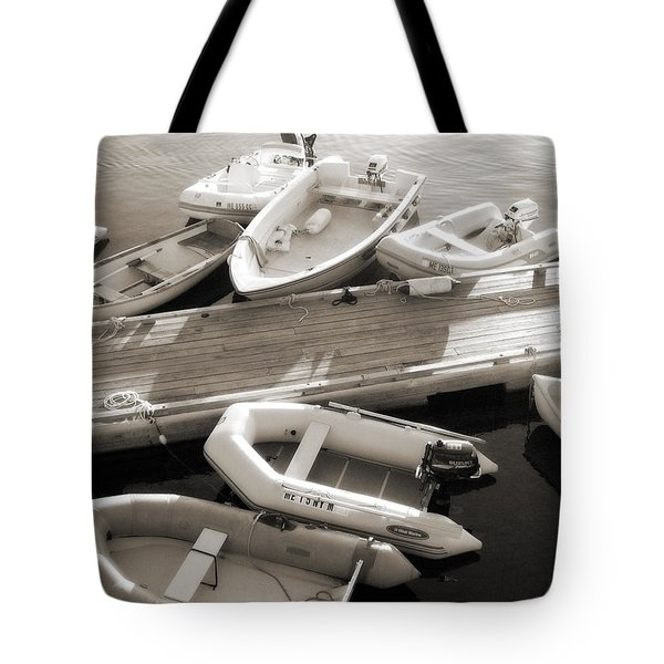 Softly Floating Tote Bag