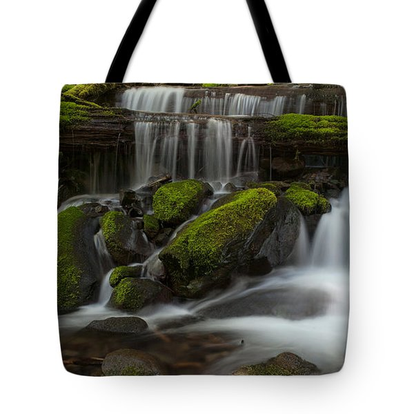 Sol Duc Stream Tote Bag by Mike Reid