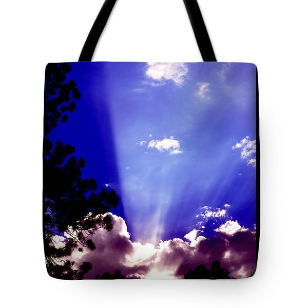 Tote Bag featuring the photograph Solar Devas by Susanne Still