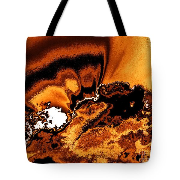Solar Flare Tote Bag by Rebecca Margraf