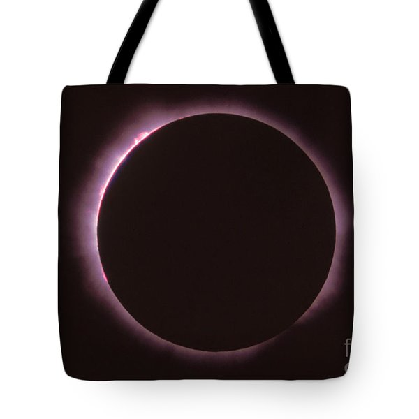 Solar Prominence And Chromosphere Tote Bag by Science Source