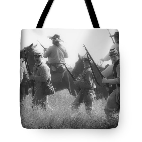 Soldiers Tote Bag by Kim Henderson