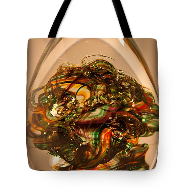 Solid Glass Sculpture E1p Tote Bag by David Patterson