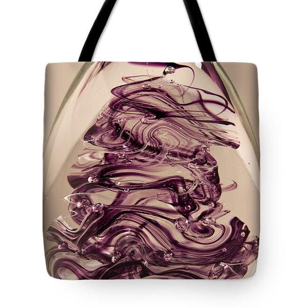 Solid Glass Sculpture E8 Tote Bag by David Patterson