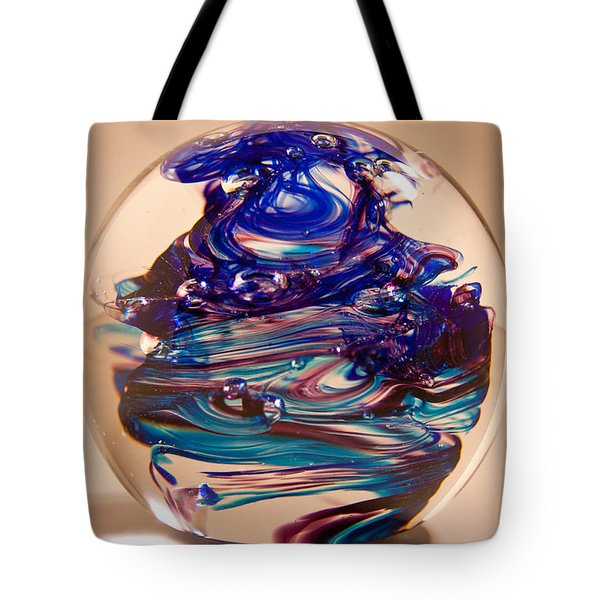 Solid Glass Sculpture R2 Tote Bag by David Patterson