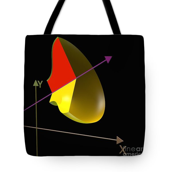 Tote Bag featuring the digital art Solid Of Revolution 4 by Russell Kightley
