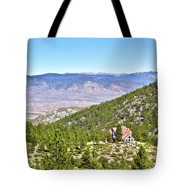 Solitude With A View - Carson City Nevada Tote Bag