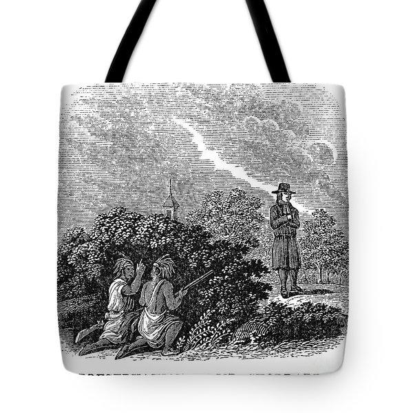 Solomon Stoddard Tote Bag
