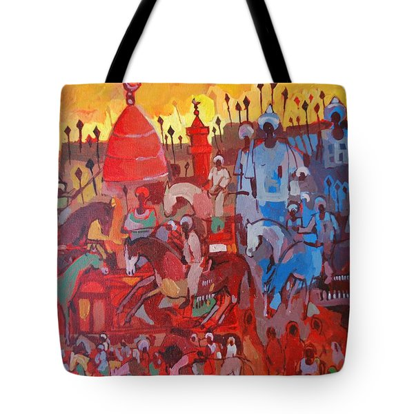 Some Of The History1 Tote Bag by Mohamed Fadul