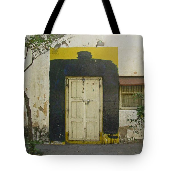 Tote Bag featuring the photograph Somebody's Door by David Pantuso