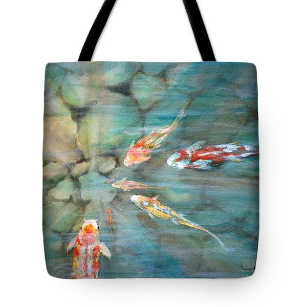 Something Fishy Tote Bag by Mohamed Hirji