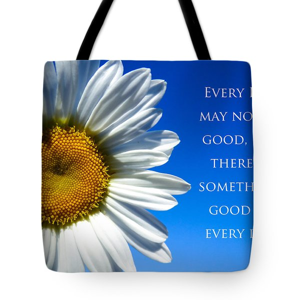 Something Good Tote Bag by Julia Wilcox