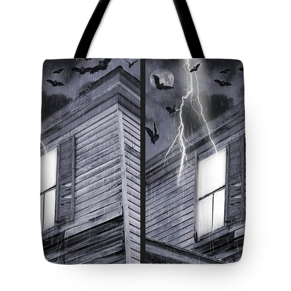 Something Wicked - Cross Your Eyes And Focus On The Middle Image Tote Bag by Brian Wallace