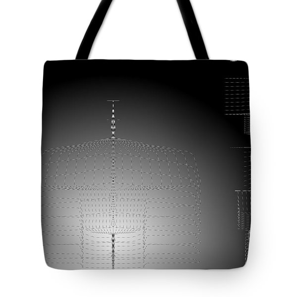 Somewhere In Space Calculations Continue Tote Bag