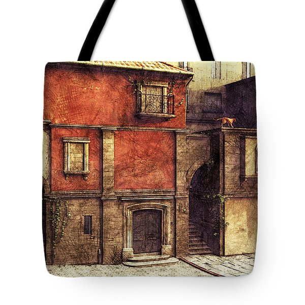 Somewhere In The South Tote Bag by Jutta Maria Pusl