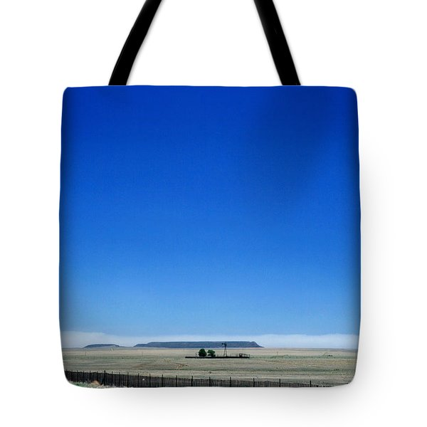 Tote Bag featuring the photograph Somewhere On Hwy 285 Number One by Lon Casler Bixby