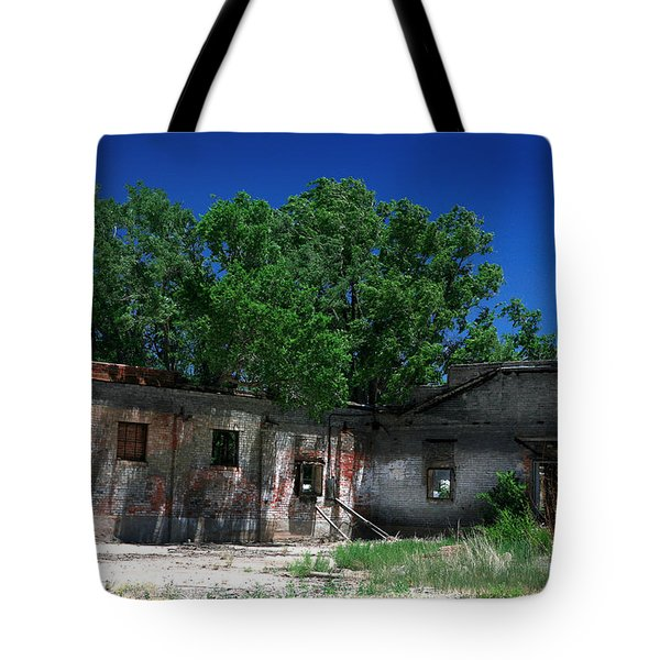Tote Bag featuring the photograph Somewhere On Hwy 285 Number Three by Lon Casler Bixby