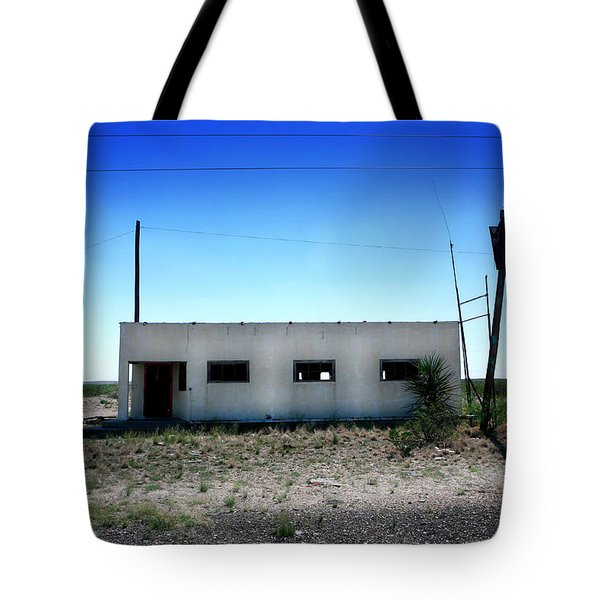 Tote Bag featuring the photograph Somewhere On The Old Pecos Highway Number 1 by Lon Casler Bixby