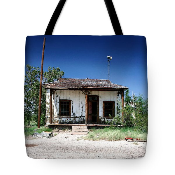 Tote Bag featuring the photograph Somewhere On The Old Pecos Highway Number 3 by Lon Casler Bixby