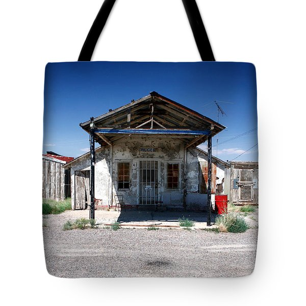 Tote Bag featuring the photograph Somewhere On The Old Pecos Highway Number 4 by Lon Casler Bixby