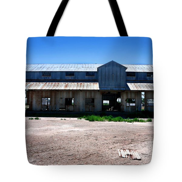 Tote Bag featuring the photograph Somewhere On The Old Pecos Highway Number 6 by Lon Casler Bixby