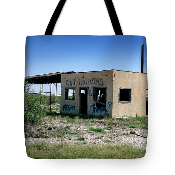 Tote Bag featuring the photograph Somewhere On The Old Pecos Highway Number 7 by Lon Casler Bixby