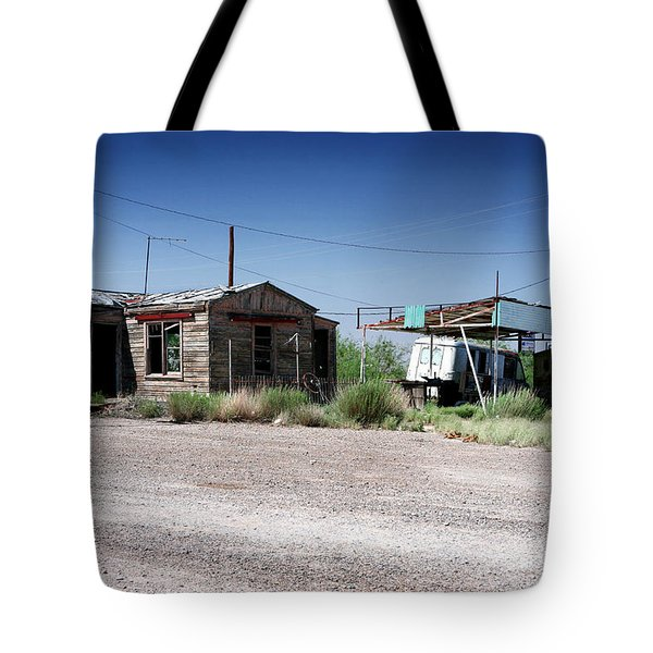 Tote Bag featuring the photograph Somewhere On The Old Pecos Highway Number 8 by Lon Casler Bixby