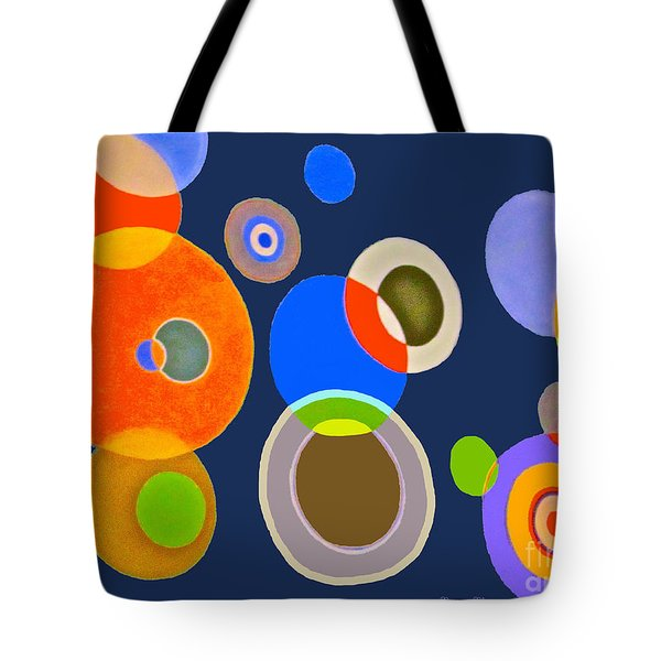 Somewhere Out There Tote Bag by Beth Saffer