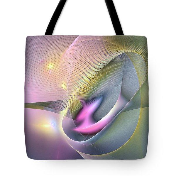 Somnus Futurus -abstract Art Tote Bag