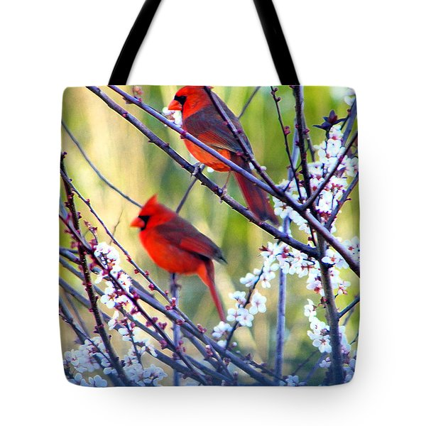 Song Of Spring Tote Bag by Judy Wanamaker