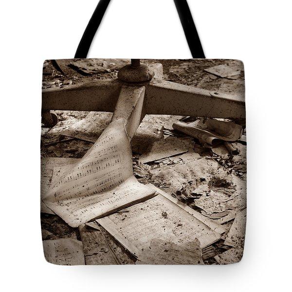 Songs Of Silence Tote Bag by Luke Moore