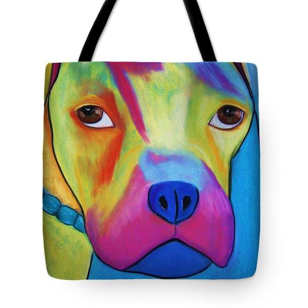 Sonny Blu Tote Bag by Melinda Etzold