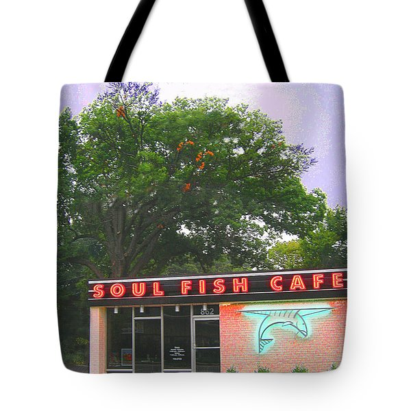 Soul Fish Tote Bag by Lizi Beard-Ward