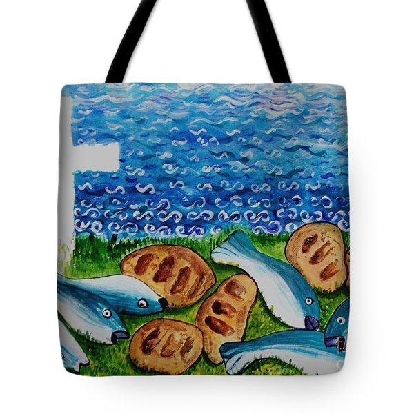 Soul Food Tote Bag by Caroline Street