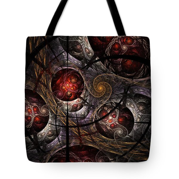 Tote Bag featuring the digital art Soul Of Osiris by NirvanaBlues
