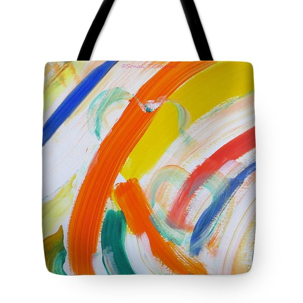 Tote Bag featuring the painting Souls by Sonali Gangane