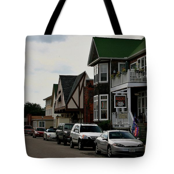 Soundside Village Tote Bag