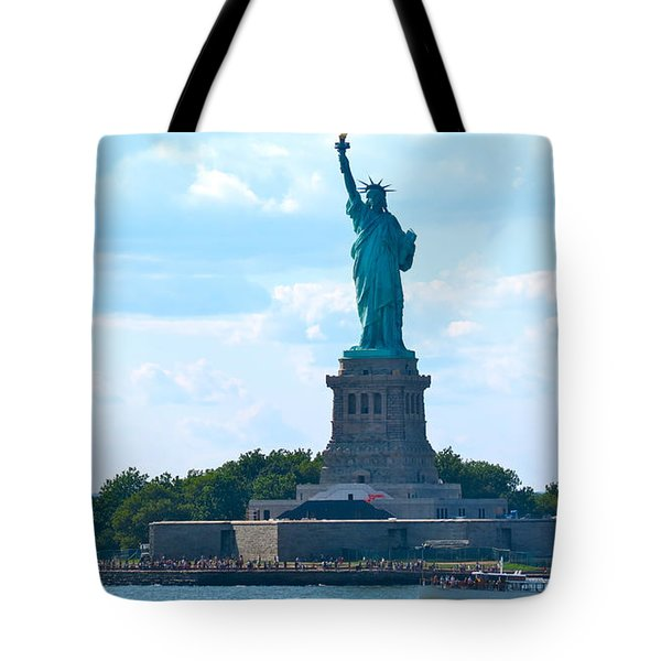South Ferry Water Ride13 Tote Bag by Terry Wallace