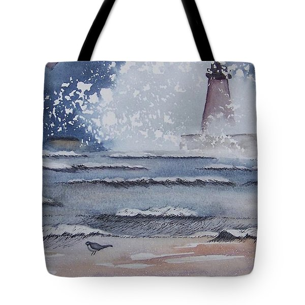 South Haven Lighthouse Tote Bag