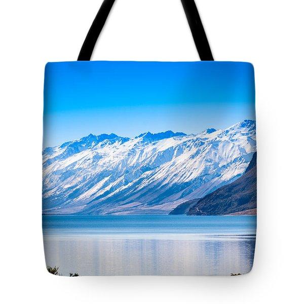South Island Lake Wanaka New Zealand Tote Bag by John White