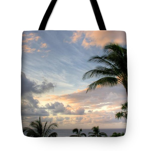 South Seas Sunset Tote Bag by John  Greaves