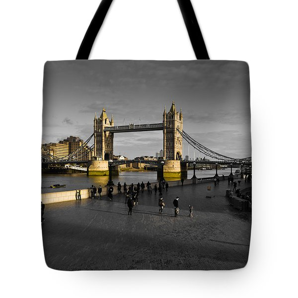 Southbank London  Tote Bag by David Pyatt