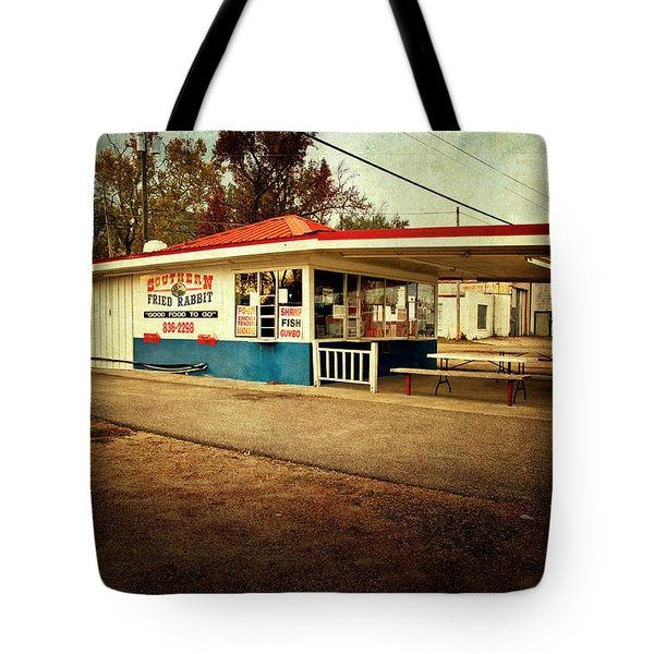 Southern Fried Rabbit Tote Bag by Tamyra Ayles