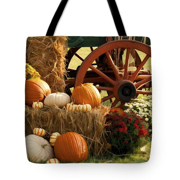 Southern Harvestime Display Tote Bag by Kathy Clark