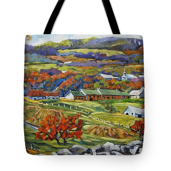Souvenir 05 Chateau Richer Old Quebec By Prankearts Tote Bag
