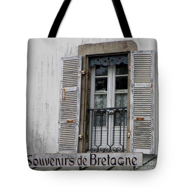 Tote Bag featuring the photograph Souvenirs De Bretagne by Lainie Wrightson